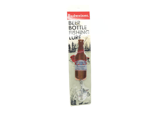 Budweiser Beer Bottle Novelty Lure on Card