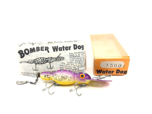 Bomber Water Dog 1500 #71 Purple Back/Yellow Belly