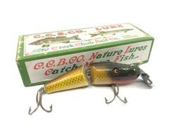 Creek Chub 2704 Baby Jointed Pikie in Golden Shiner Color with Box