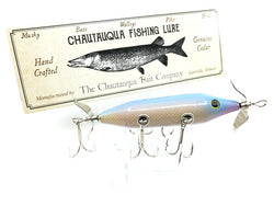 Chautauqua Special Order Wooden 5 Hook Minnow in Dolphin Minnow Color