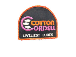 Cotton Cordell Liveliest Lures Fishing Patch