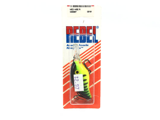 Rebel Deep Wee-R Fire Tiger Color New on Card Old Stock