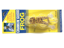 Renosky Crankin' Guido Frog Brown Frog Color New on Card