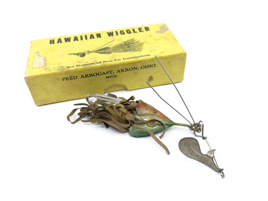 Arbogast Hawaiian Wiggler with Box