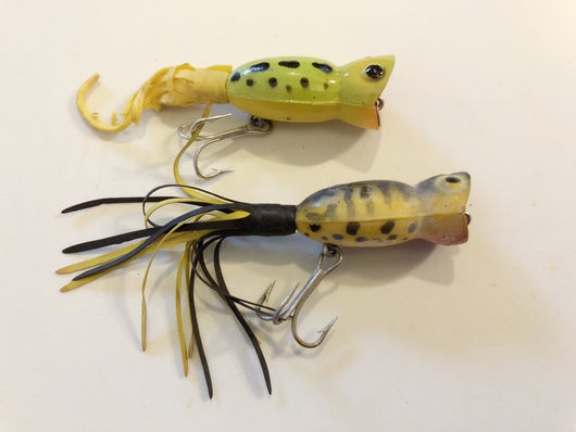 Tiny Arbogast Fly Rod Hula Poppers