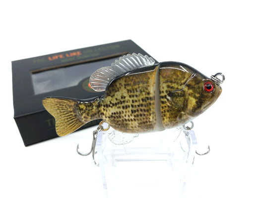 Mother Nature Lure Swimbait Baby Sunfish Series Rock Bass Color New in Box