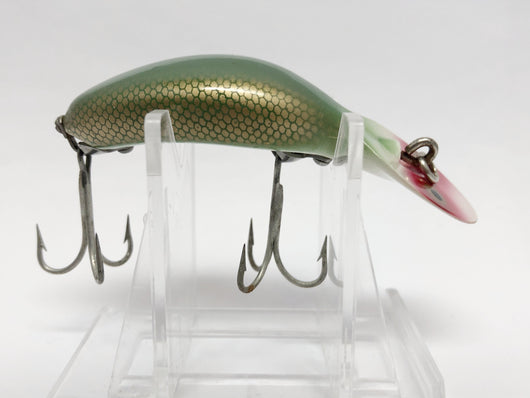 Heddon Tadpolly Spook Green with Gold Scale