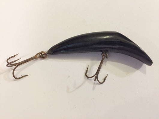Canadian Wiggler Lure All Black