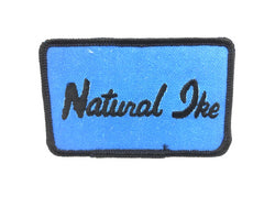 Lazy Ike Natural Ike Vintage Patch