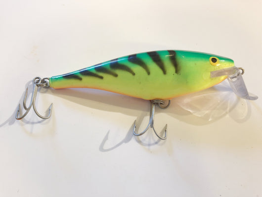 Rapala Super Shad Musky Lure Fire Tiger Color