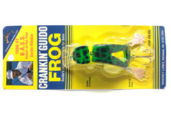 Renosky Crankin' Guido Frog Natural Frog Color New on Card
