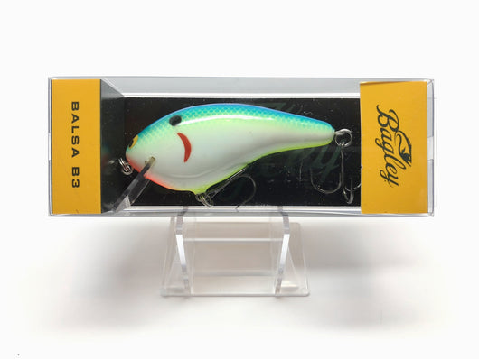 Bagley Balsa B3 BB3-CTSD Citrus Shad Color New in Box OLD STOCK
