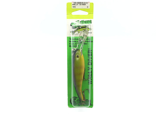 Cotton Cordell Wally Diver Perch Color New on Card