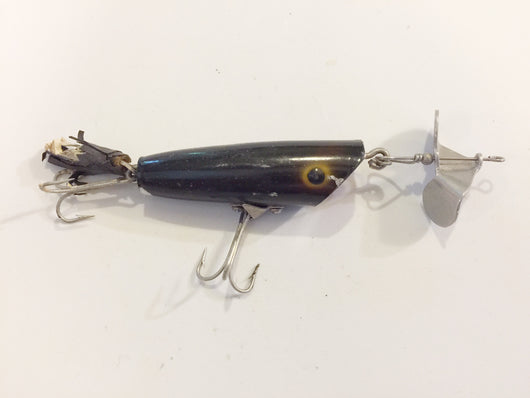 Arbogast Sputterbug Lure in Black Color