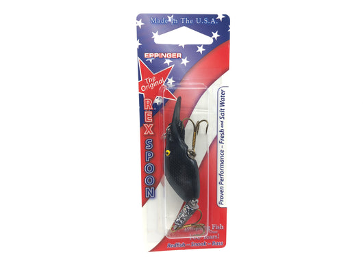 Sparkle Tail Black and Silver Color 505 Series 10 Lure New on Card