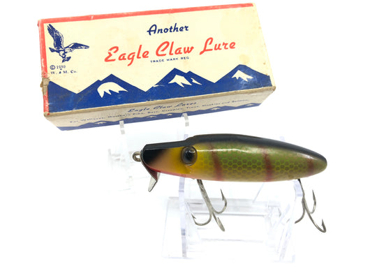 Eagle Claw Hijacker 302 Lure Perch Color with Box