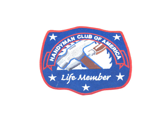Handyman Club of America Life Member Patch