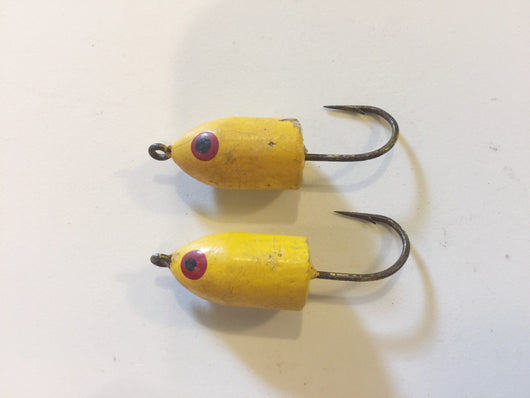 Two Yellow Poppers