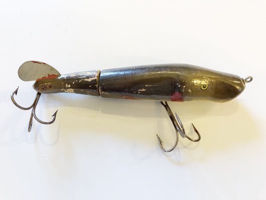 C.C. Roberts Mudpuppy Vintage Musky Wooden Fishing Lure