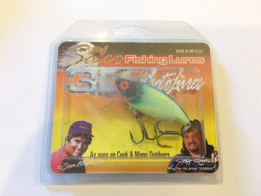 Tom Mann Salco 3D Photolures NOC Yellow Green lure