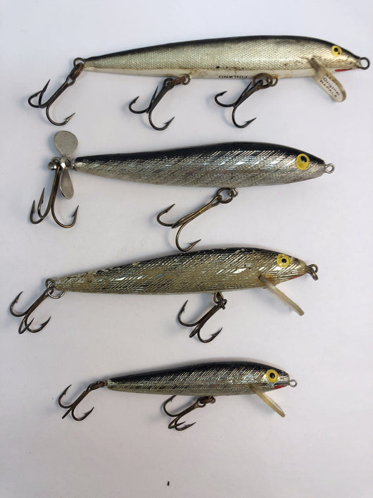 4 Rapala Minnows