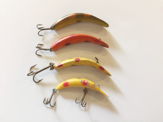 Helin Flatfish X4 Lures - Lot of 4