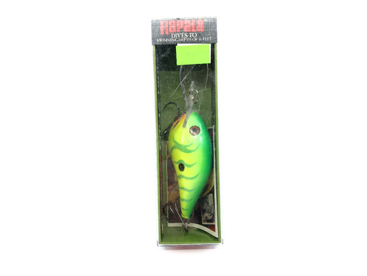 Rapala Dives-To 16 DT-16 GTR Green Tiger Color New in Box Old Stock