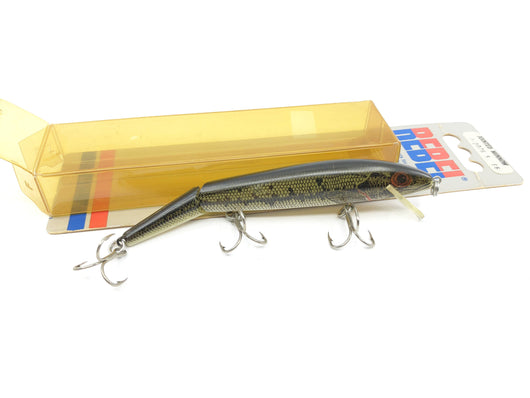 Rebel Jointed Minnow J-2076 S ES Bass Color New on Card