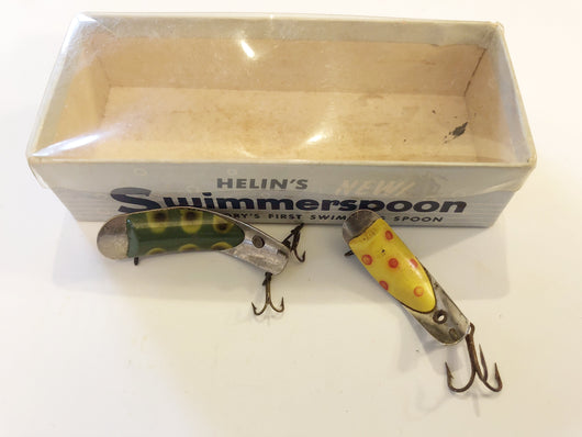 Helin Swimmerspoons Lot of Two and Box