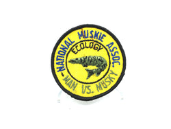 Man Vs. Musky National Muskie Association Patch