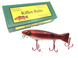 Rusty Jessee Killer Baits Trout Caster Model in Cranberry Scale Color 2019