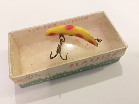 Helin Fly Rod Flatfish F4 Yellow with Red Spots with Box