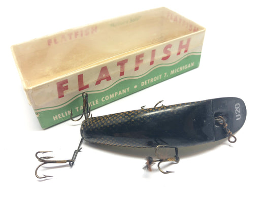 Helin Vintage Flatfish U20 SC Scale Color Fishing Lure
