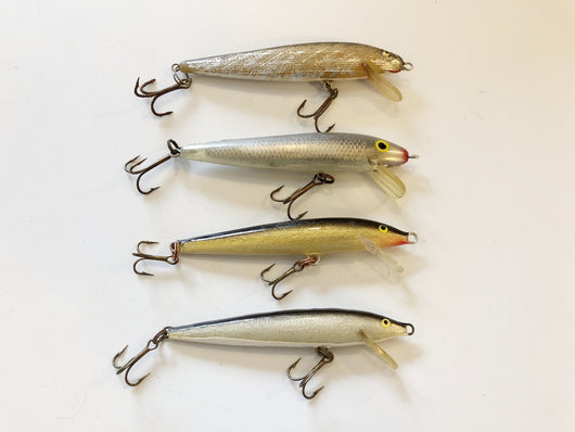 Rapala Minnows Lot of Four