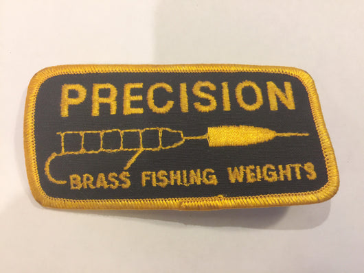 Precision Brass Fishing Weights Patch