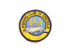 FCA Fishing Club of America Patch