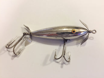 Pflueger 2 Hook Metallized Minnow Circa 1920