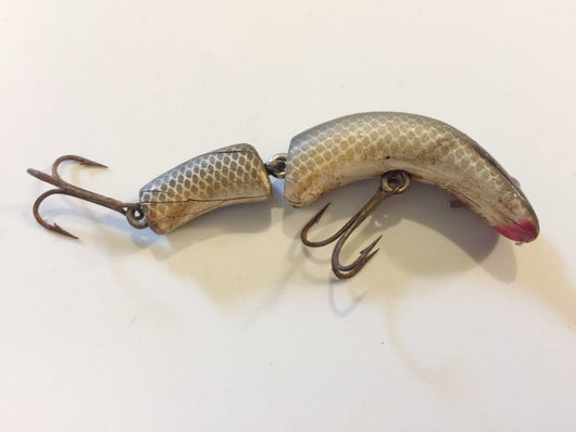 Lazy Ike Kautzky Flex Ike Black Scale Wooden Lure