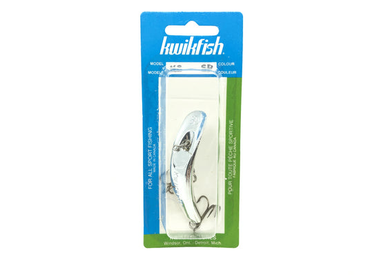 Kwikfish K8 SP Silver Plated Color New on Card Old Stock