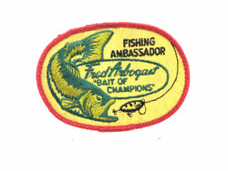 Fred Arbogast Fishing Ambassador Bait of Champions Patch