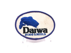 Daiwa Rods & Reels Fishing Patch