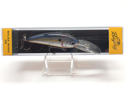 Bagley Balsa Shad 08 BS08-SSD Silver Shad Color New in Box OLD STOCK