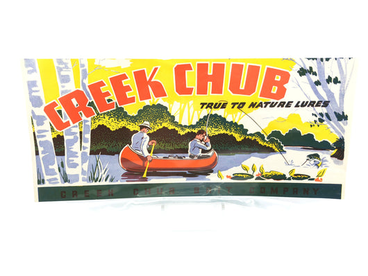 Early Creek Chub Select-Six Box Label