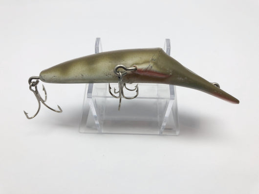 """Vintage Mercury Minnow Fishing Lure 4/"""" 3 Hook Silver with Light Blue Scale"""