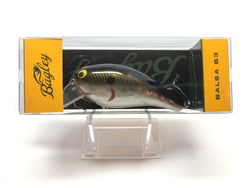 Bagley Balsa B3 BB3-CTS Chrome Shad Color New in Box OLD STOCK
