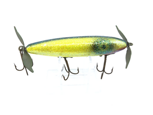 Sparkle Topwater Lure Chartreuse Yellow Color