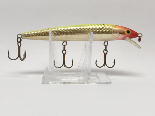Large Rapala Red and Gold Minnow