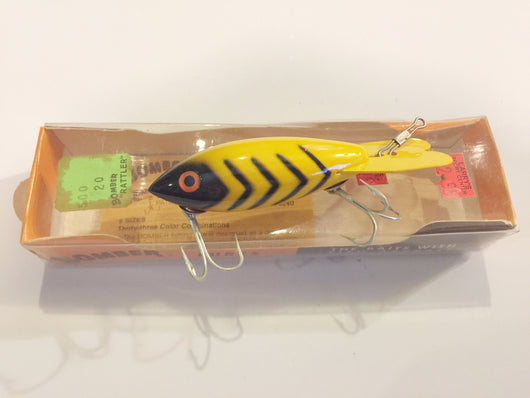 Bomber Yellow with Black Ribs New in Box