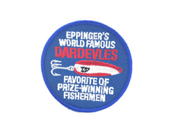 Eppinger Dardevle Prize Winning Fishermen Patch