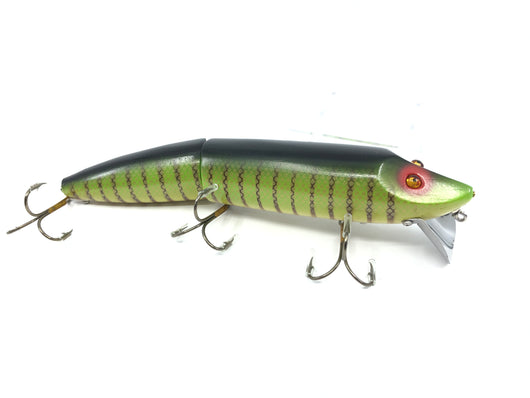 Chautauqua Special Order Wooden Giant Jointed Vamp in Yellow Perch Color